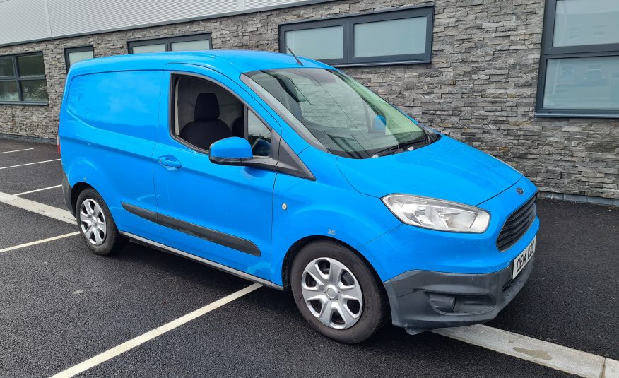 FORD TRANSIT 2014 COURIER 1.6 . 2014  NO VAT GOOD TO GO