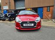 DS 3 CHIC PURE TECH 1.2cc RED /BLACK ROOF 2016
